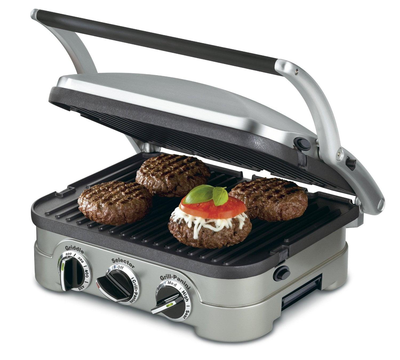 Cuisinart-GR-4N-Griddler-Silver-Black