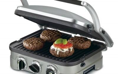 Cuisinart griddler GR-4N 5-in-1 Grill Review