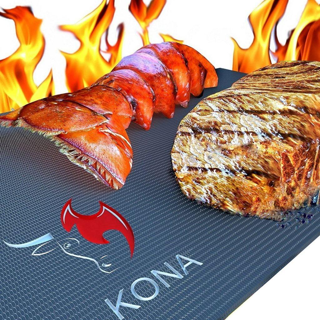 KONA Best BBQ Grill Mat - best grill mats