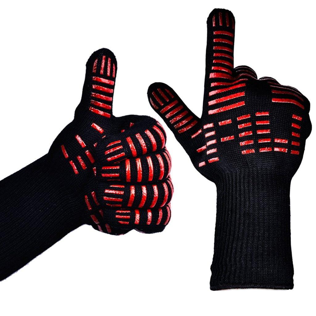 TTLIFE BBQ Grilling Cooking Gloves