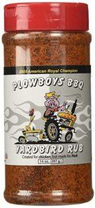 Best Seasonings for General Purpose Plowboys Yardbird Rub