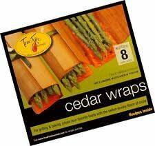 TrueFire Gourmet TFWraps8-8 Cedar Wraps