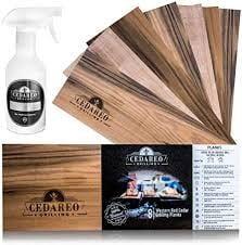 """CEDAREO – 15""""x 5.5""""x 3/8 Cedar Grilling Planks"""
