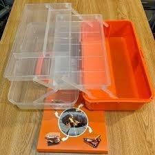 SUMPRI Smores Caddy -TWO FOLDING TRAYS Smore storage Box