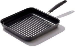 "OXO Good Grips Non-Stick Square Grill PAN, 11"", Grillpan, Black"